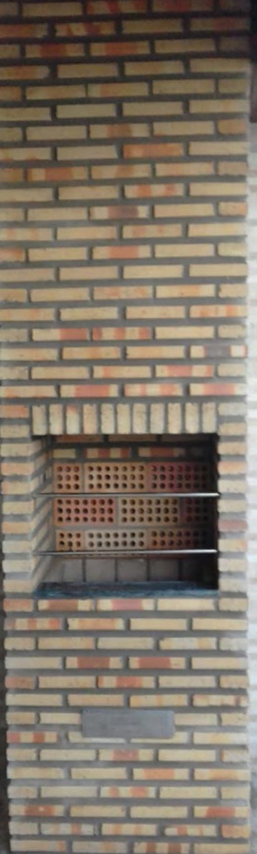 705Churrasqueira Alvenaria Quadrada
