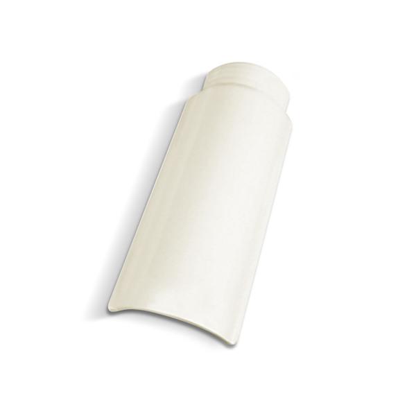 699Cumeeira Esmaltada Branca